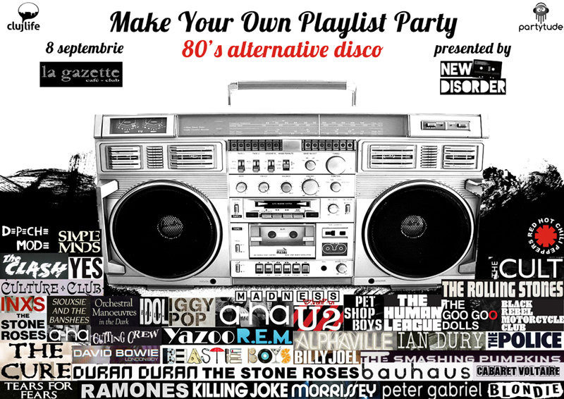 Make Your Own Playlist Party #4