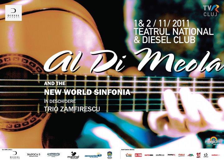 Al Di Meola live la Cluj