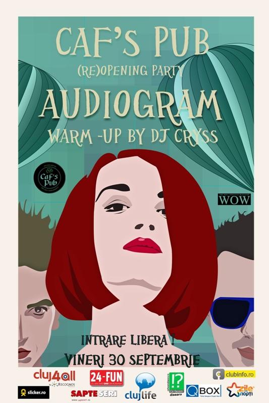 Audiogram @ Caf's Pub