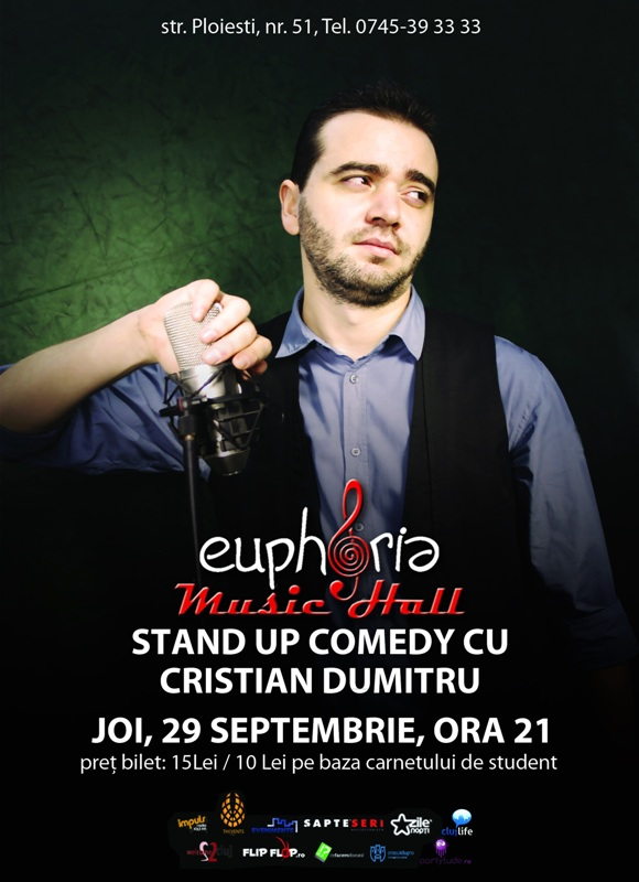 Cristian Dumitru @ Euphoria Music Hall