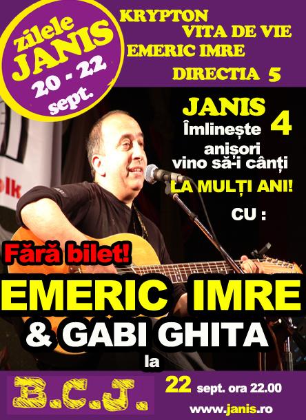 Emeric Imre & Gabi Ghita @ BCJ