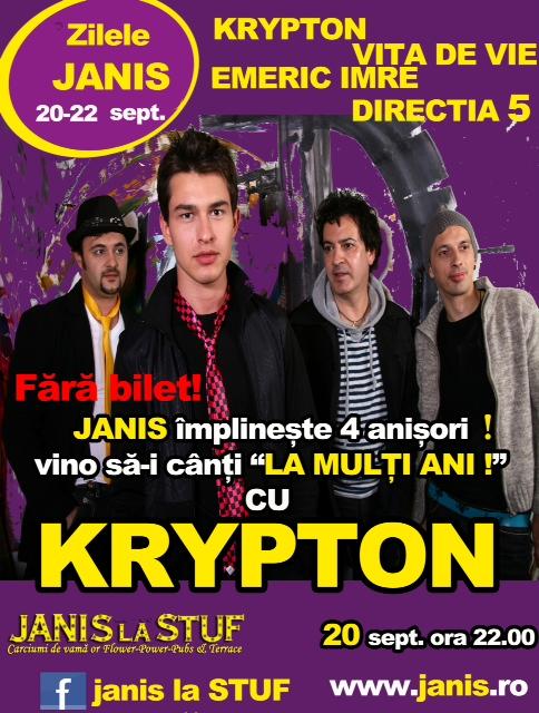 Krypton @ Janis la Stuf