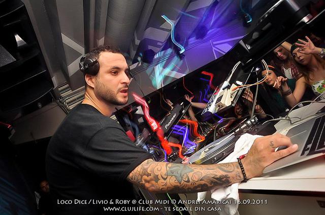 Poze: Loco Dice / Livio & Roby @ Club Midi