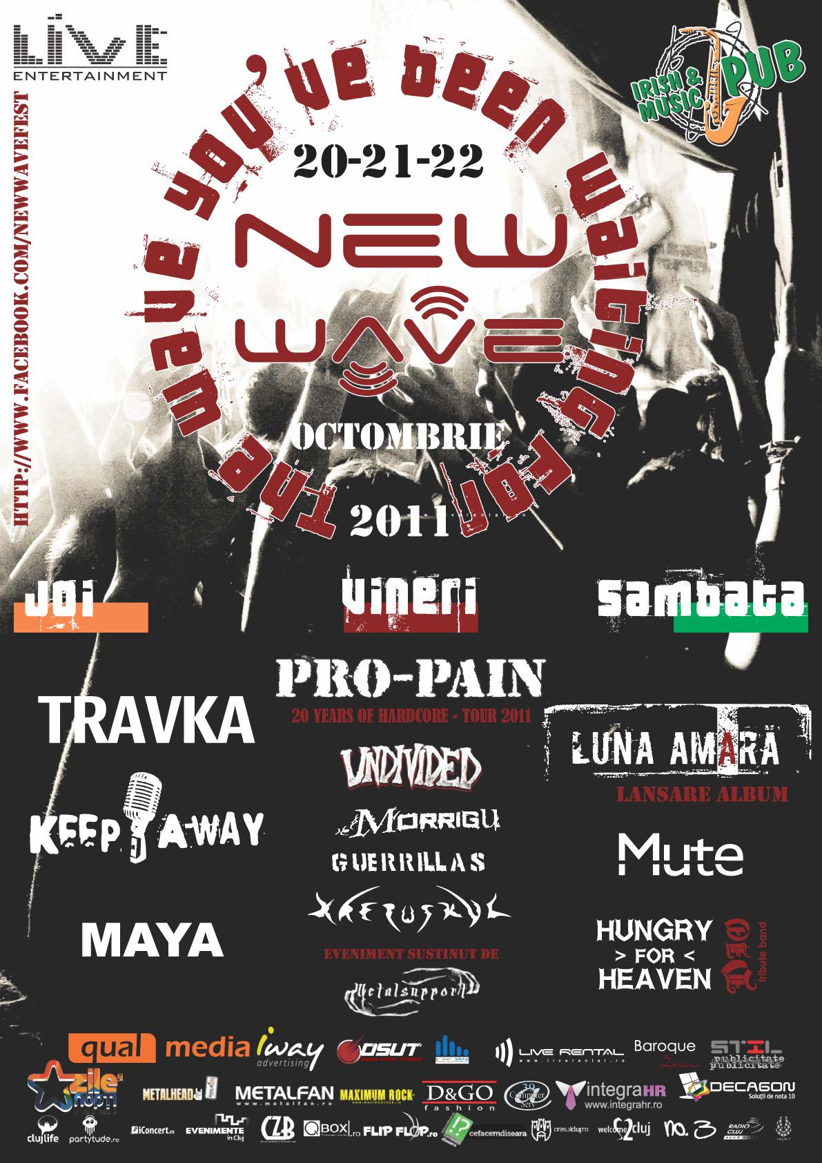 New Wave Fest @ Irish & Music Pub