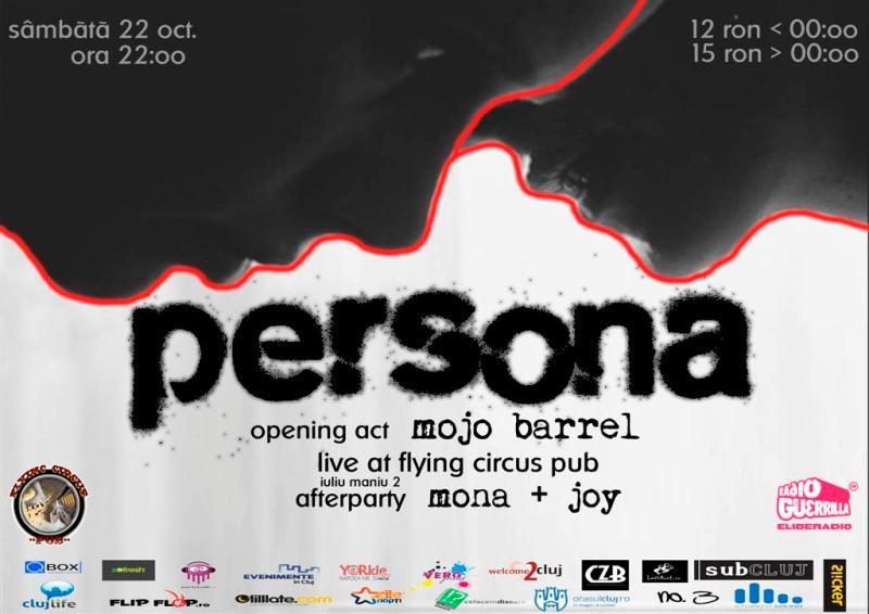 Persona @ Flying Circus Pub