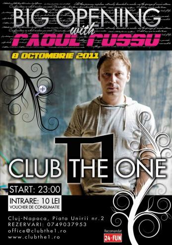 Raoul Russu @ Club The One
