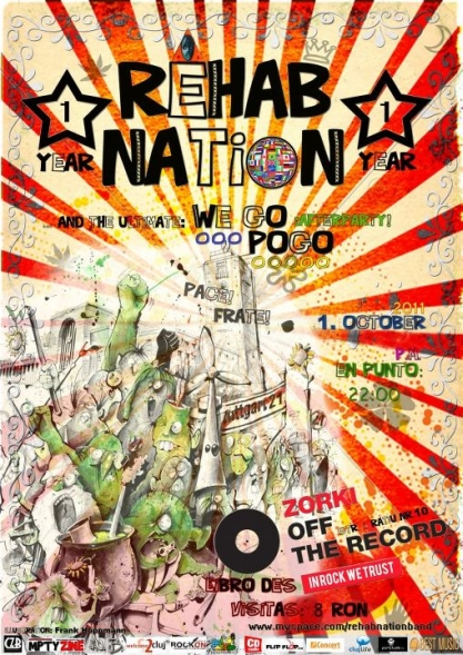 Rehab Nation @ Zorki Off the Record