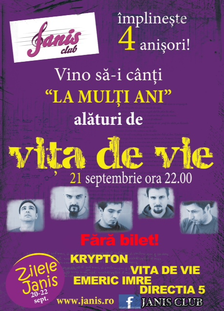 Vita de Vie @ Janis Club