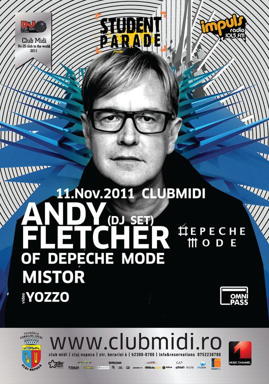 Andy Fletcher of Depeche Mode @ Club Midi