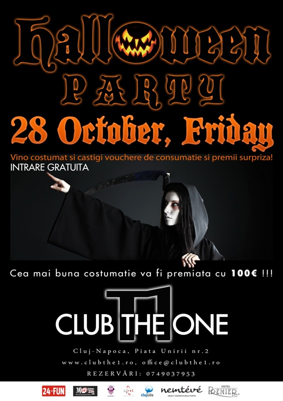 Halloween Party @ Club The One