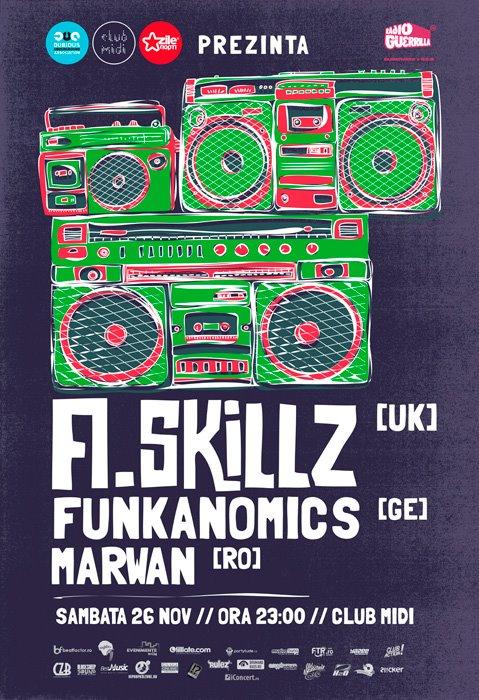 A Skillz & Funkanomics @ Club Midi
