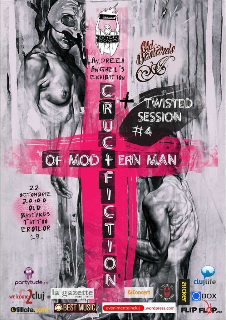 Vernisaj: Crucifiction of Modern Men