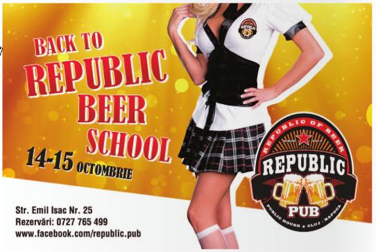 Back to Republic Beer School