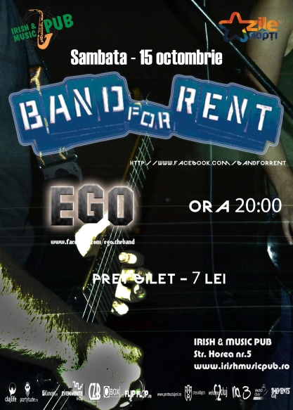 Band for Rent @ Irish & Music Pub