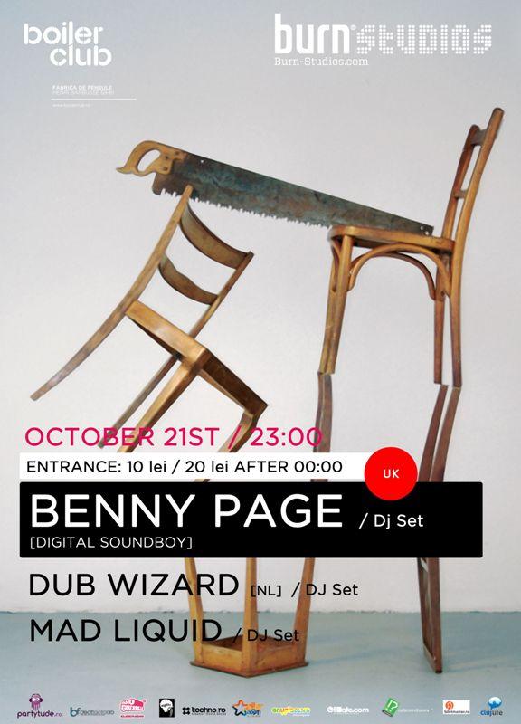 Benny Page @ Club Boiler