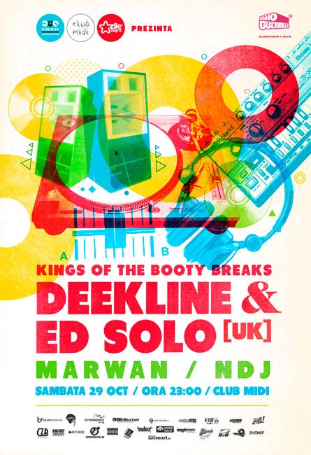 Deekline & Ed Solo @ Club Midi