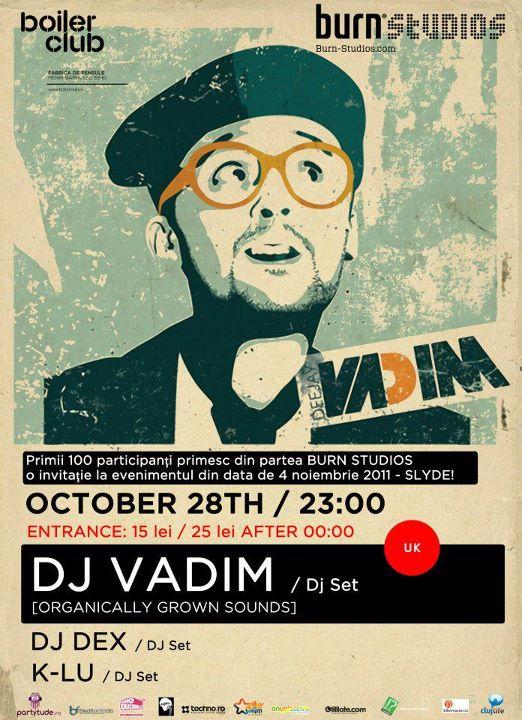 DJ Vadim @ Club Boiler