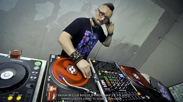 Poze: DJ Vadim @ Club Boiler