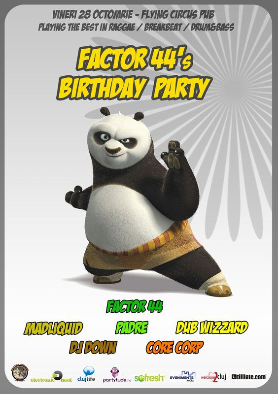 Factor 44's B-day Party @ Flying Circus Pub
