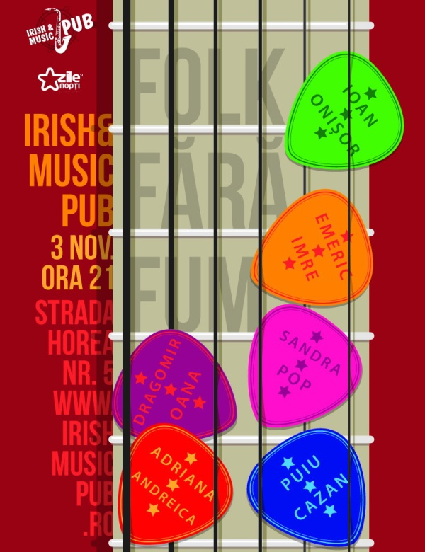 Folk fara fum @ Irish & Music Pub