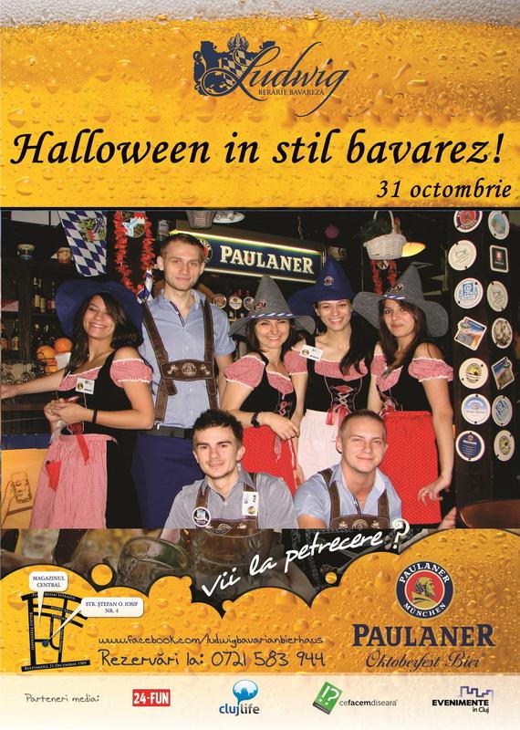 Halloween in stil bavarez