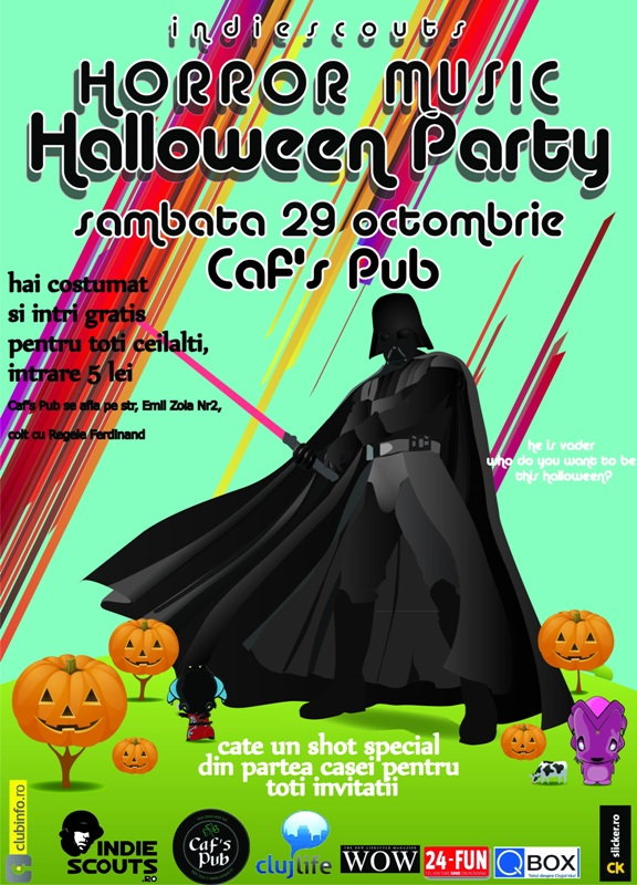 Halloween Party @ Caf's Pub