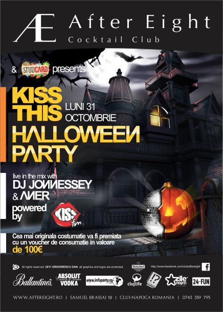 Kiss This Halloween Party @ After Eight