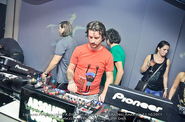 Poze: Luciano / Mirko Loko / K.D.Chriss @ Club Midi