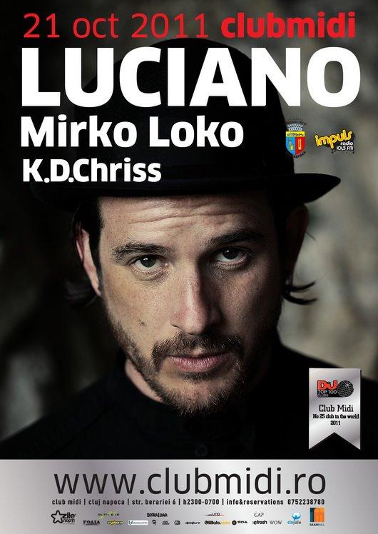 Luciano / Mirko Loko @ Club Midi