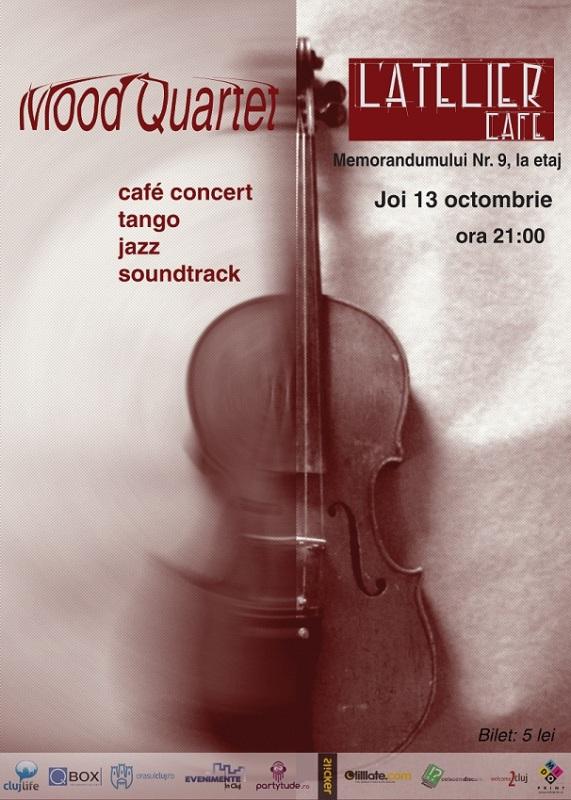 The Mood Quartet @ L'Atelier Cafe