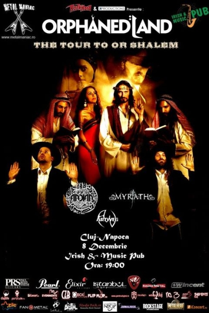 Orphaned Land @ Irish & Music Pub