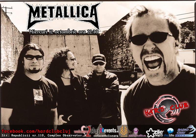 Videoproiectie: Metallica @ Hard Club