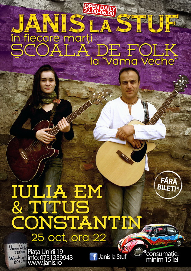 Titus Constantin & Iulia Em @ Janis la Stuf