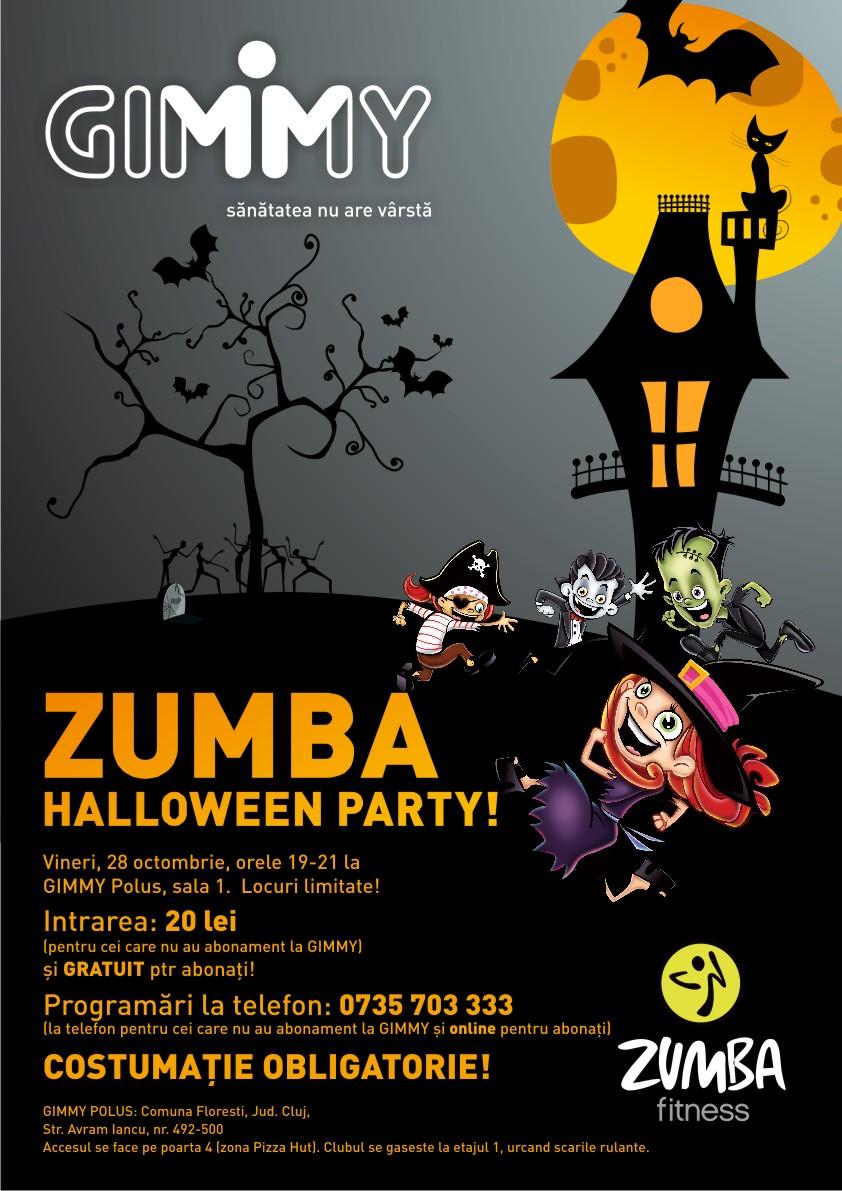 Zumba Halloween Party @ Gimmy Polus