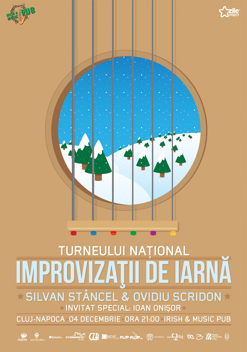 Improvizatii de iarna @ Irish & Music Pub