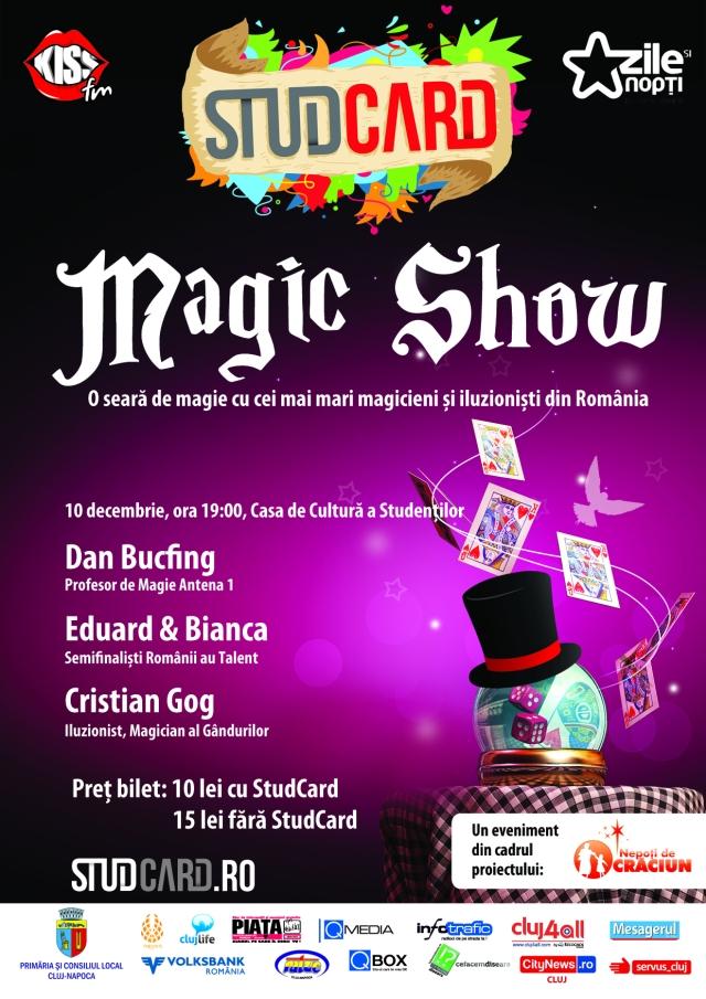 Magic Show @ Casa de Cultura a Studentilor