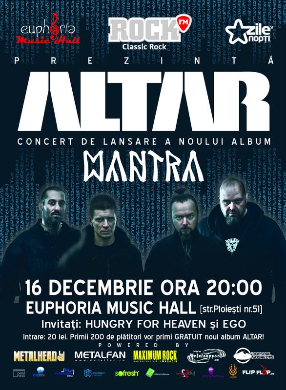 Altar @ Euphoria Music Hall