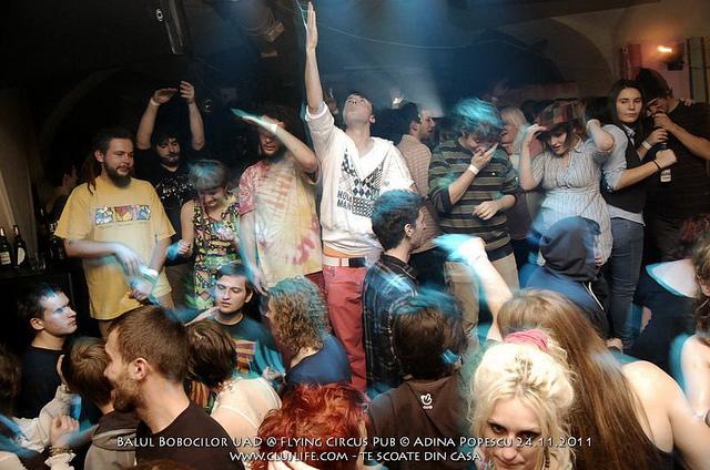 Poze: Balul Bobocilor UAD @ Flying Circus Pub