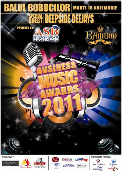 Business Music Awards @ Club Bamboo