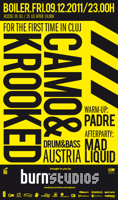 Camo & Krooked @ Club Boiler