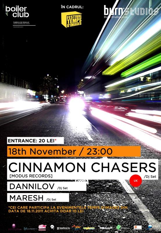 Cinnamon Chasers @ Club Boiler
