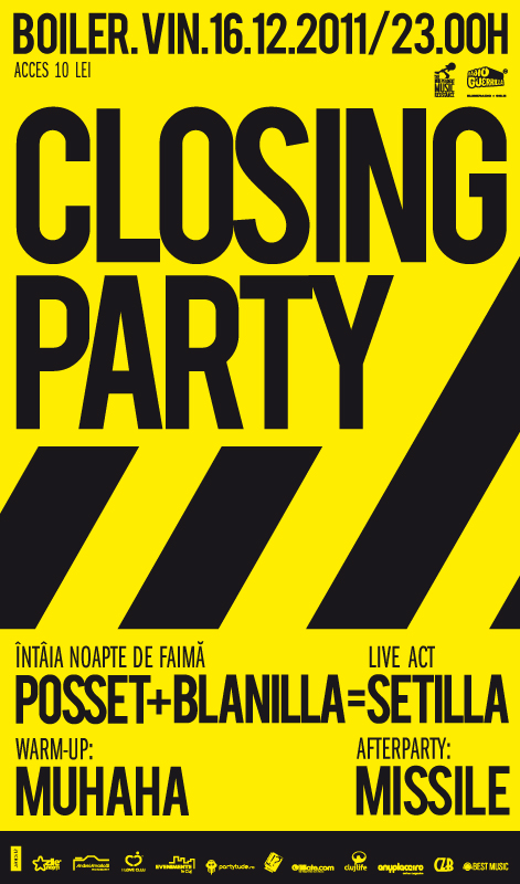 Closing Party @ Club Boiler