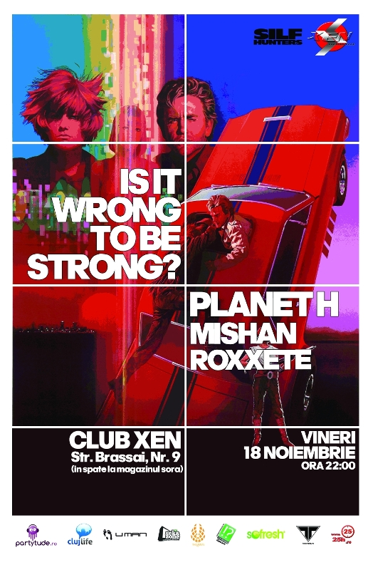 IS IT WRONG TO BE STRONG? @ Club XEN