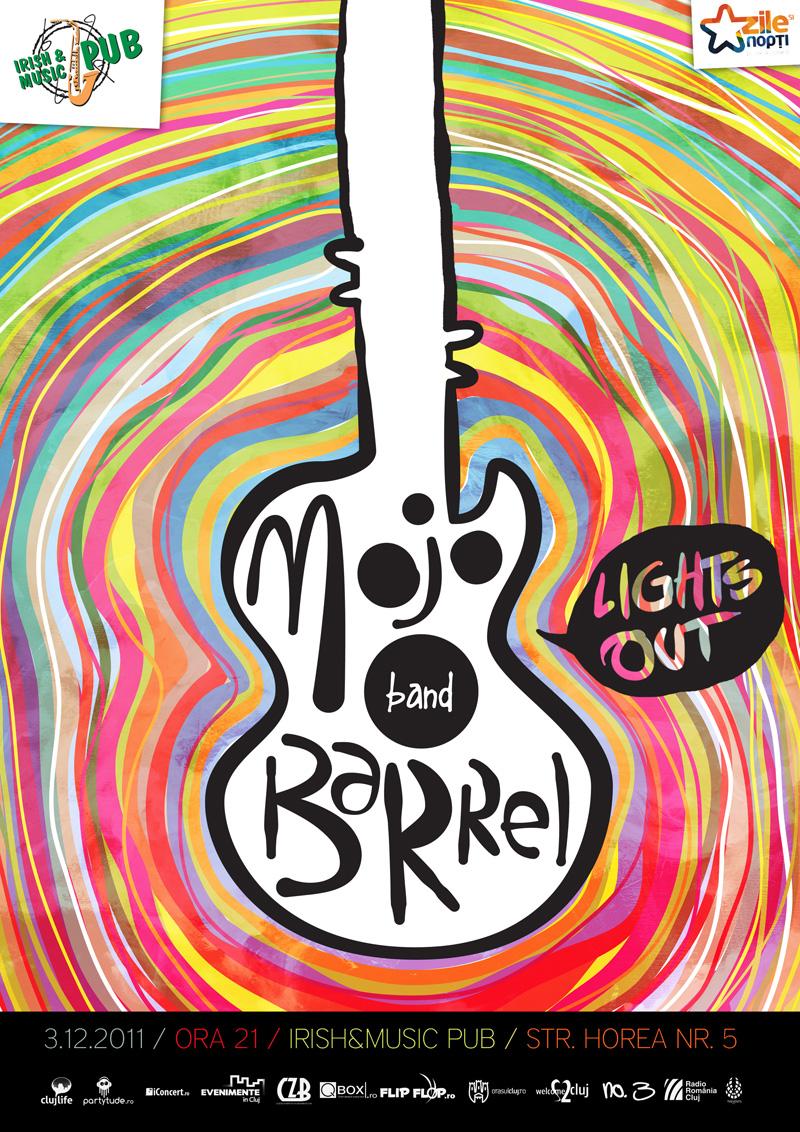 Mojo Barrel & Lights Out @ Irish & Music Pub