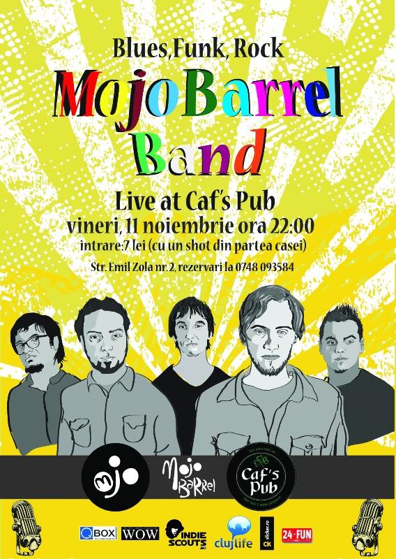 Mojo Barrel Band @ Caf's Pub