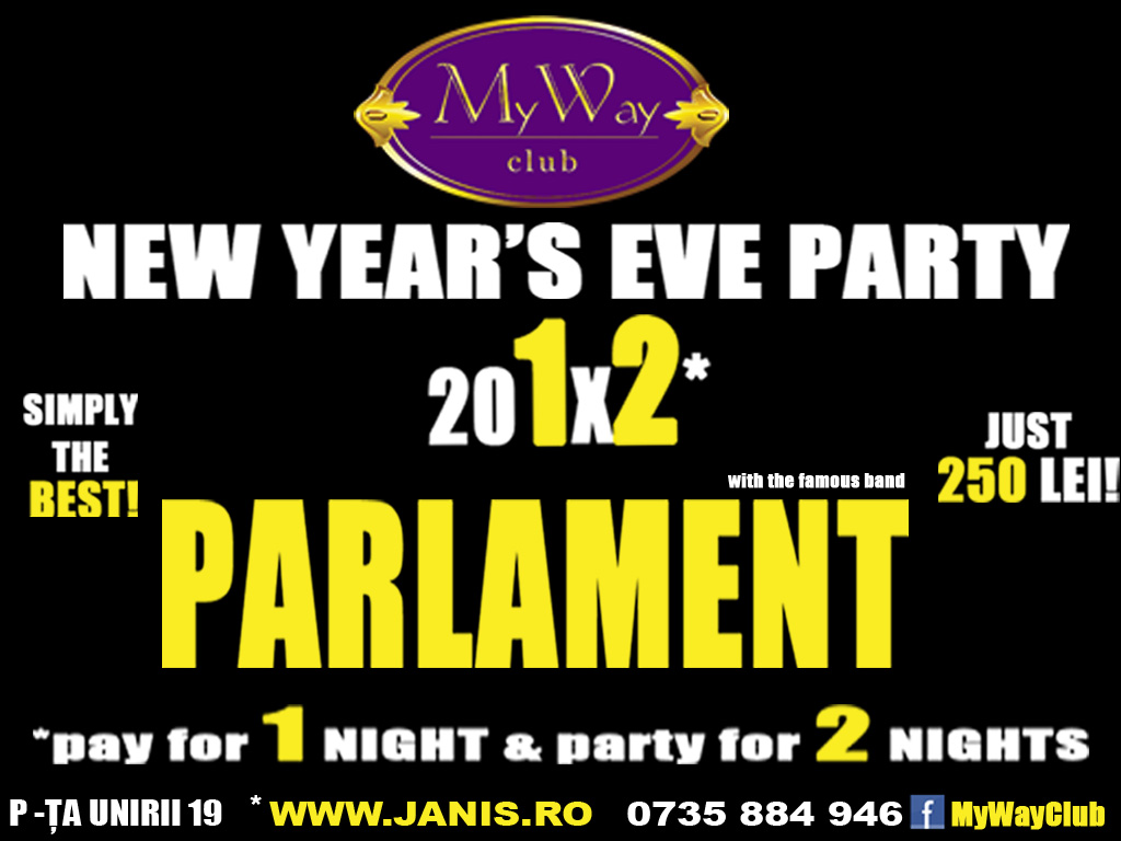 Revelion 2012 @ Club My Way