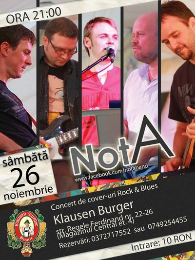 notA @ Klausen Burger