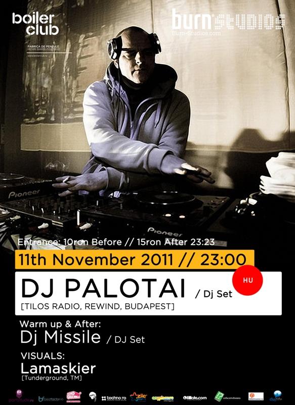 DJ Palotai @ Club Boiler