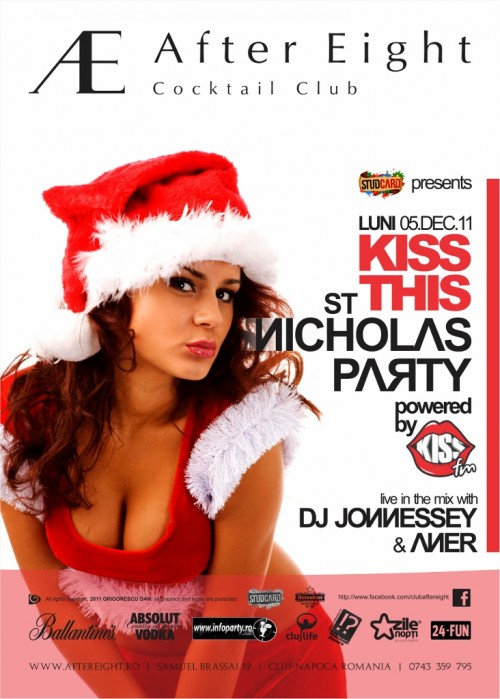 St. Nicholas Party @ After Eight