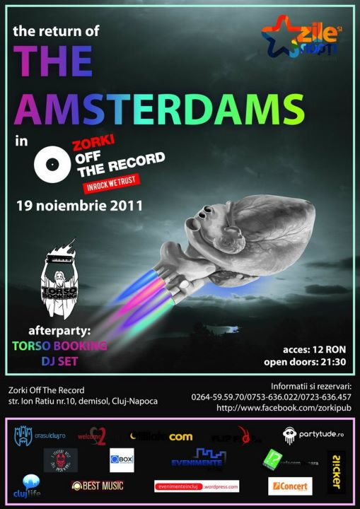 The Amsterdams @ Zorki Off the Record